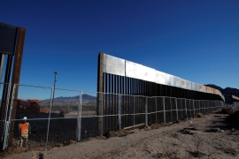 US President Donald Trump insists that Mexico will foot the bill for the border wall, retroactively if need be [Jose Luis Gonzalez/Reuters]