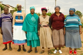 The grandmothers running rural South Africa