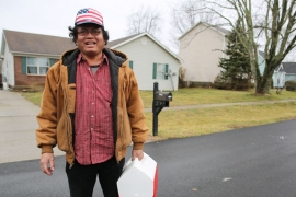 Sovanna Chhan, a Cambodian refugee who recently became a US citizen, doesn't regret voting for Trump [Chris Kenning/Al Jazeera]