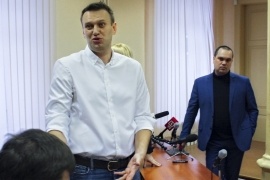 Russia's Alexei Navalny found guilty of fraud