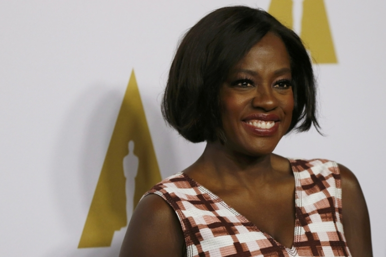 Actress Viola Davis is nominated for her role in Denzel Washington's Fences [Mario Anzuoni/Reuters]