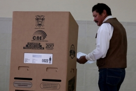 Ecuador votes in crucial general elections