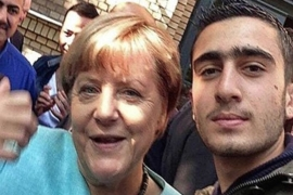 Modamani says his life changed after he took a selfie with German Chancellor Angela Merkel in 2015 [Photo courtesy of Anas Modamani]