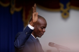 Jovenel Moise sworn in as Haiti's new president