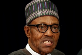 President Buhari  has been under growing pressure to disclose his state of health since he returned from London after two months away [Reuters]