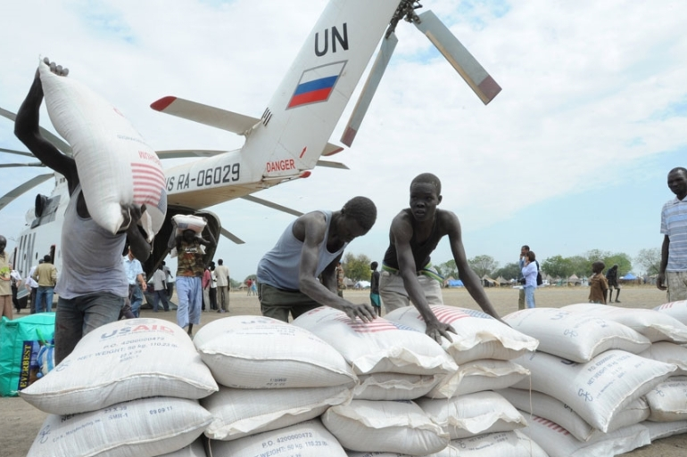 The move was said to be aimed at reducing the number of humanitarian workers [Isaac Billy/EPA]