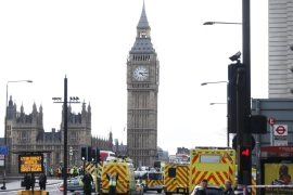 Westminster attack: Car-and-knife rampage kills four