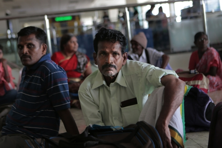 Sri Lanka Tamils who fled during the  war returned home as part of an UNHCR-Sri Lanka initiative [AP]