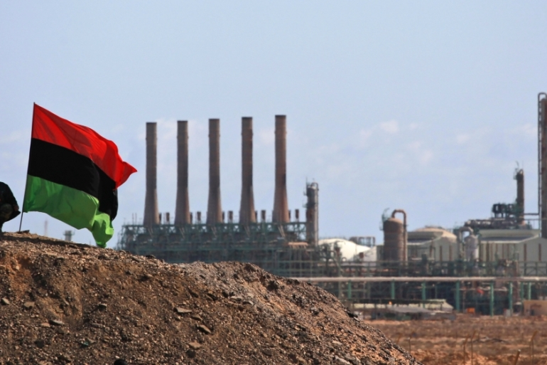 Control of the oil ports gave Haftar the upper hand in political negotiations [Kevin Frayer/AP]