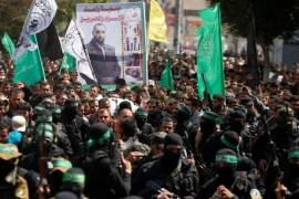 Hamas has said it holds Israel responsible for the killing of senior Hamas member, Mazen Faqha [Mohammed Salem/Reuters]