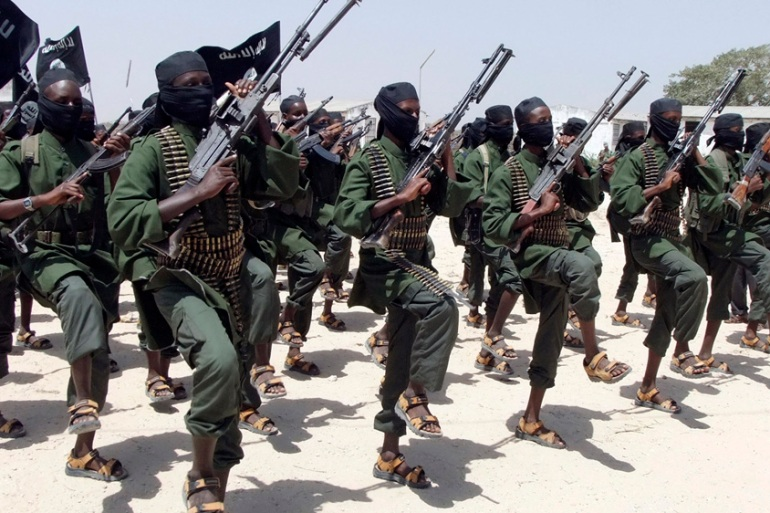 Al-Shabab said US troops had attacked one of their bases [File: Farah Abdi Warsameh/AP]