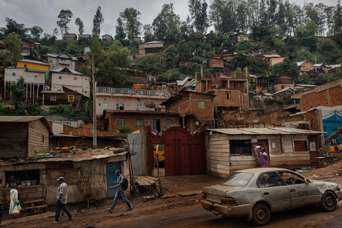 The city of Bukavu. Today, the DRC is experiencing a period of major political instability and violence. [Marco Gualazzini/Al Jazeera]