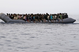 Nearly 22,000 refugees have been picked up from boats heading to Italy so far this year [File: Abdullah Elgamoudi/AFP]