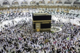 Saudi's Hajj ministry said that the kingdom, the birthplace of Islam, welcomes 'all pilgrims from all the different nationalities and backgrounds' [Reuters]