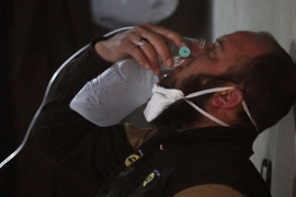 'Chemical attack' in Syria draws international outrage