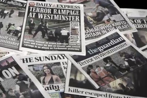Westminster attack: The media's 'terror' template