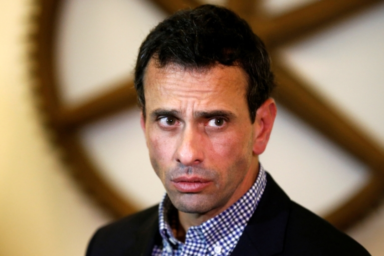 Capriles branded the move part of what the opposition alleges is a 'coup' by Maduro [File: Reuters]