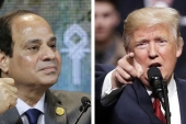 Trump has yet to offer any reassurances to the Sisi regime on the most pressing issues, writes Elmenshawy [AP]