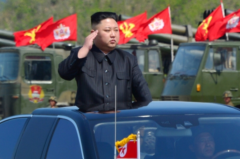 US officials say sanctions could force Kim Jong-un to back down on his nuclear programme [KCNA via Reuters]