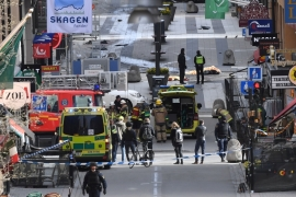Stockholm attack: Uzbek held for 'terrorist crimes'