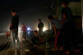 Gaza in the dark as fuel for power plant runs out