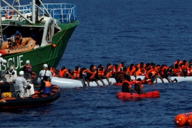 More than 650 people have been listed as dead or missing off the Libyan coast so far this year [Darrin Zammit Lupi/Reuters]