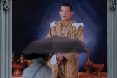 Since his ascension to the throne, Vijiralongkorn has demonstrated that power can be waged both by consent and coercion, love and fear. writes Sopranzetti [Athit Perawongmetha/Reuters]