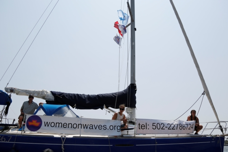 Women on Waves has visited waters off Guatemala, Ireland, Morocco, Poland, Portugal and Spain [File: Reuters]