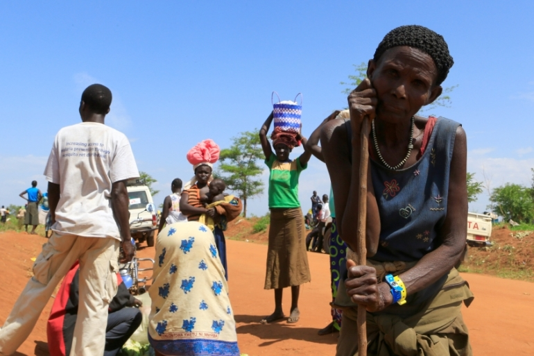 Uganda currently hosts more than 832,000 refugees from South Sudan [James Akena/Reuters]