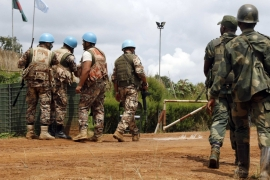 UN researchers were looking into alleged human rights violations by the Congolese army and local militia groups [Reuters]