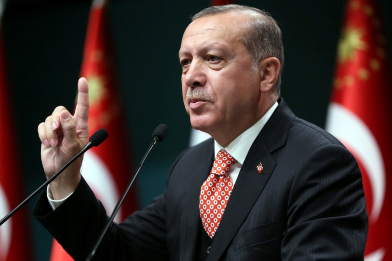 Turkey's Erdogan has expressed support for Qatar since the beginning of the crisis [Reuters]
