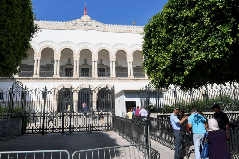 Dozens of defendants faced two separate trials over the closely linked shootings, which occurred just months apart in Tunis and Sousse [File: Fethi Belaid/AFP]