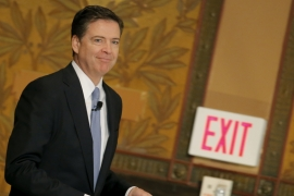 Why was James Comey so controversial?