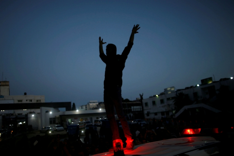Israel announced on Thursday it would reduce the power supply further in Gaza [Mohammed Salem/Reuters]