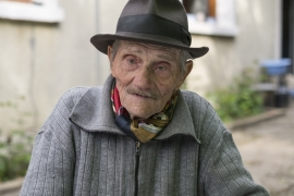 Raymond Gureme, a Roma born in France, was beaten and tortured in concentration camps [Raymond Bobar/Al Jazeera]