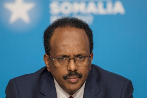 Somalia's government has been unable for months to reach agreement on how to carry out elections [File: Jack Hill/Pool/Reuters]
