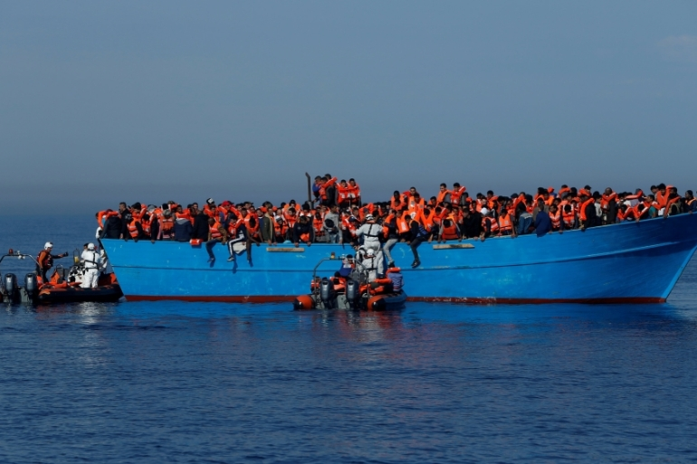 The Italy-Libya channel is one of the most perilous migration routes [DZ Lupi/Reuters]