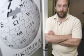 The cofounder of online encyclopedia Wikipedia is turning his hand to the news by launching Wikitribune – a new kind of online publication [AP]