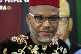 Nnamdi Kanu, is the leader of the group known as the Indigenous People of Biafra, which is calling for the secession of southeastern Nigeria [Chika Oduah/Al Jazeera]