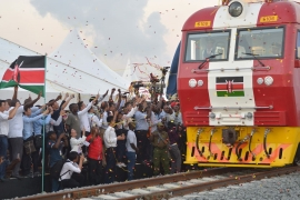 Kenya inaugurates new Chinese-funded railway