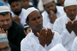 Attacks on Muslim properties have surged in the past two weeks in Sri Lanka [Dinuka Liyanawatte/Reuters]