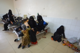 More 115 people have died due to the ongoing cholera crisis in Sanaa [Abduljabbar Zeyad/Reuters]