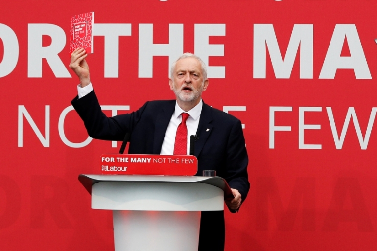 Corbyn wants to scrap university tuition fees and reverse cuts to welfare [Darren Staples/Reuters]