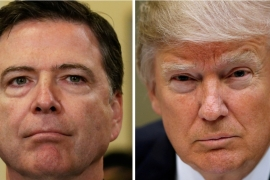 Trump abruptly dismissed Comey on Tuesday [File: Reuters]