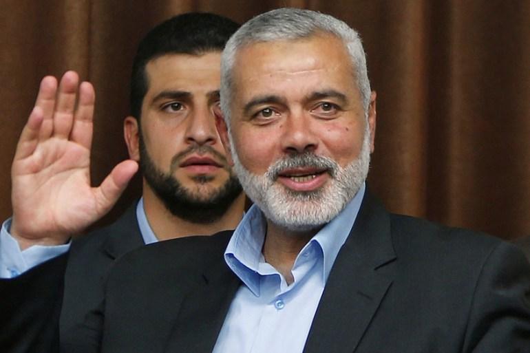 Profile Ismail Haniya Hamas Political Chief Middle East News Al Jazeera
