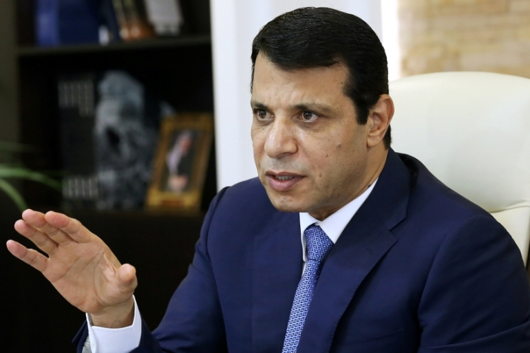 Mohammed Dahlan, a former Fatah security chief, lives in UAE [Stringer/Reuters]
