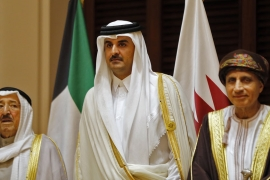 GCC countries Kuwait and Oman have not severed ties with Qatar [AFP]