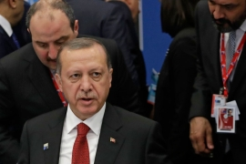 Erdogan says the Saudi-led ultimatum is 'against international law' [File: Matt Dunham/EPA]