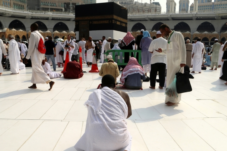 As custodian of Islam's holiest sites in Mecca and Medina, Saudi Arabia organises the annual Hajj [File: Reuters]