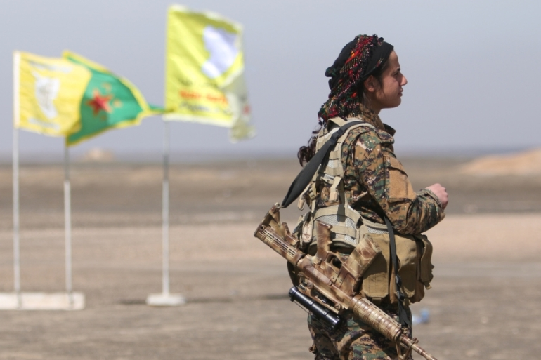 The Syrian Kurdish YPG are the US-led coalition's strongest ground partner in the battle against ISIL [Reuters]